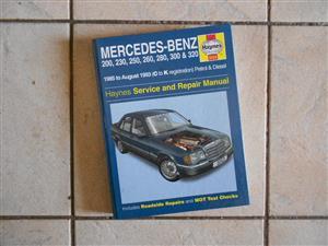 Mercedes-Benz 124 Series workshop manual