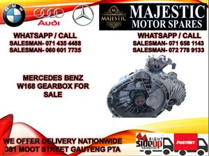 Mercedes benz W168 gearbox for sale