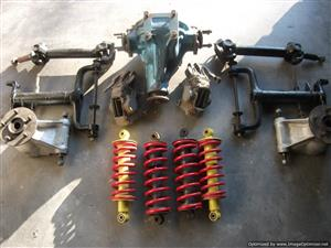 Jaguar rear suspension