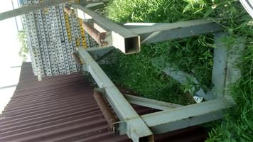 Steel frames with rollers for sale