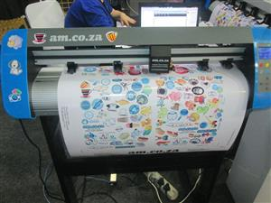 V3-743L V-Smart Contour Cutting Vinyl Cutter 740mm Working Area, plus FlexiSIGN Software