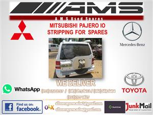PAJERO IO STRIPPING FOR SPARES