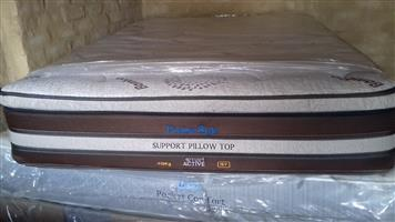 Posture Style Pillow Top Double Mattress and Base Set