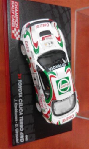 Toyota Celica turbo racing car