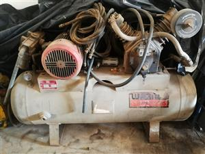 5.5kW Industrial Twin Head Compressor
