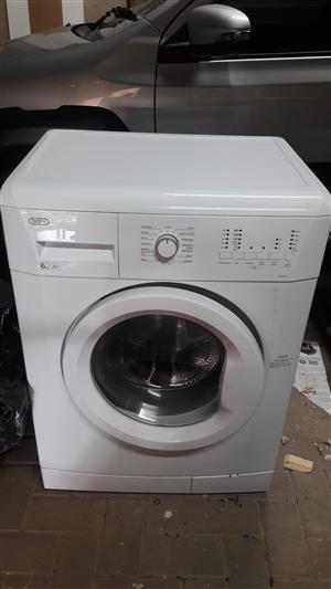 Defy 6kg Automatic Washing machine- as good as new