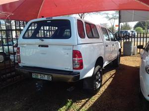 2011 Toyota Hilux double cab HILUX 2.4 GD 6 SRX P/U D/C 4X4