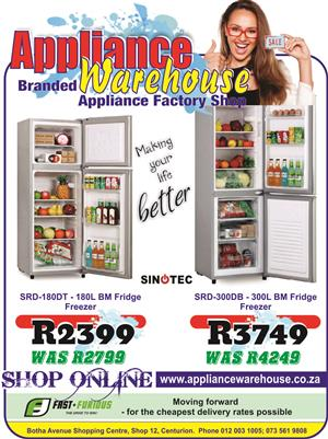 Now you can Take A Lot More home with you, with Appliance Warehouse!