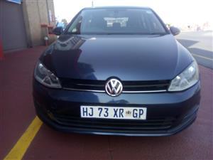 2013 VW Golf 1.4TSI Comfortline