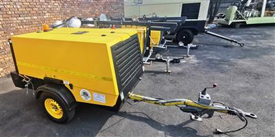 Kaeser 250CFM Mobile Diesel Compressor - 1551hrs