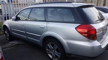 Subaru Outback3.0 2006 auto spares for sale.
