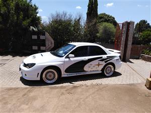 2006 Subaru Impreza 2.5 WRX sedan