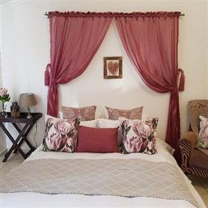 Beautiful and cosy flat furnished R4500/R3000 unfurnished incl w+l