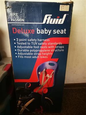 Deluxe baby seat Fluid