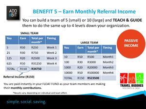 Earn,save,share