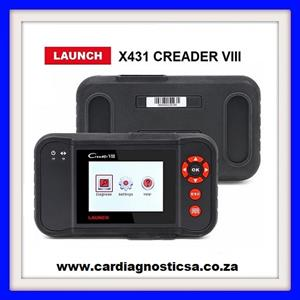Launch OBDII/EOBD Code Reader X431 Creader VIII (CRP129) 4 Systems Diagnosis