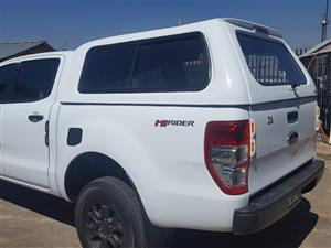 BRAND NEW FORD RANGER T6/T7 STD WHITE D/CAB CANOPY FOR SALE!!!