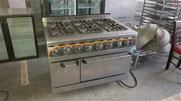Gas Stove & Electric oven