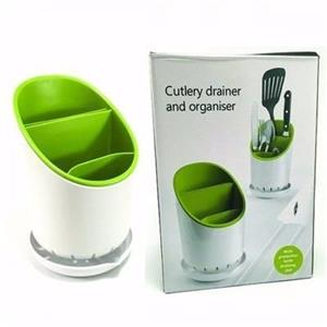 Cutlery drainer and organiser