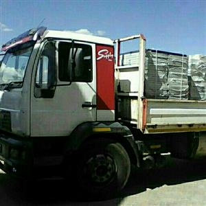 Trucks and bakie for hire