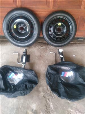 BMW Z4 18 & 19 inch Skinny Spare Wheel kits R3950