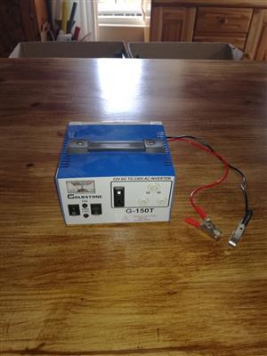 Power inverter/step up transformer 12v to 220v 150 watts