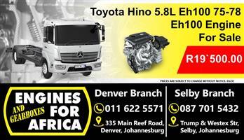 Mercedes 1313 5.7D Ade352 64-79 Engine For Sale