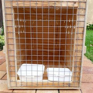 Small dogs & puppies transportation crate