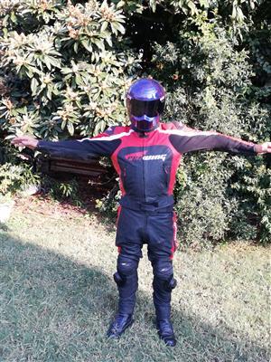 2 Piece Leather Racing Suit