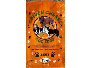 Dog food Golden Chunks