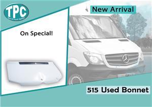 Mercedes Benz Sprinter 515 Used Bonnet For Sale at TPC