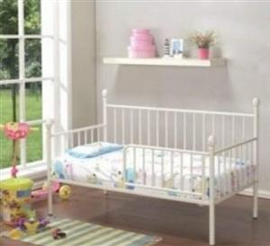 hand made solid steel kids beds