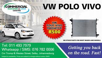 VW POLO VIVO RADIATORS
