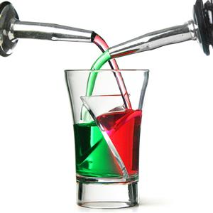 Twister Shot Glasses: Spiral Cocktail Shot Glasses. Brand New Products.