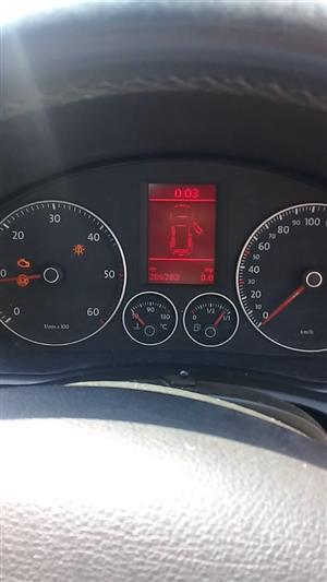 2007 VW Golf 2.0TDI Sportline