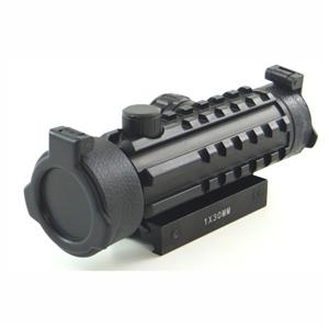 1 x 30 Red Dot Sight with Rail - For Airsoft Guns