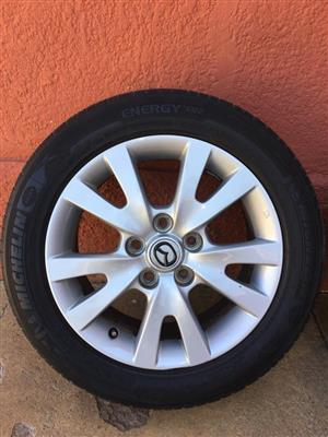 Mazda 17inch Tyres and Wheels