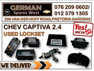 CHEV CAPTIVA 2.4 USED LOCKSET FOR SALE