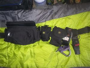 Tool belt, Tool pouches, Heat proof gloves
