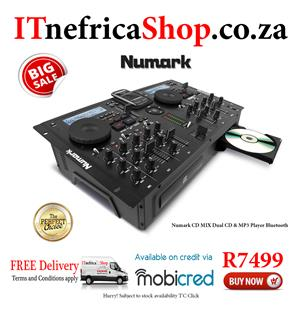 Numark CD MIX Dual CD & MP3 Player Bluetooth