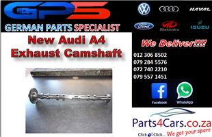 New Audi A4 Exhaust Camshaft for Sale