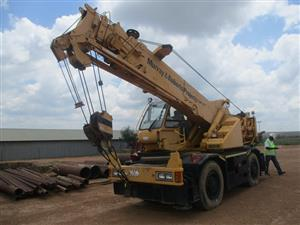Tadano TRM160M, 16 Ton Mobile Crane - ON AUCTION