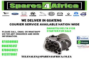 DAIHATSU DELTA V138 STARTER FOR SALE