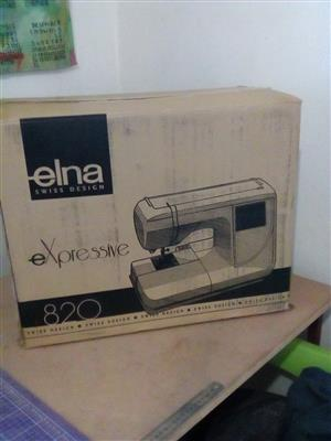 Elna Expressive 820 embroidery machine