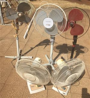5x Fans for spares