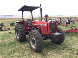 Massey Ferguson (MF) 440 80 / Hp 4x4 Pre-Owned Tractor