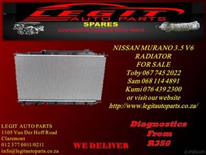NISSAN MURANO 3.5 V6 RADIATOR FOR SALE