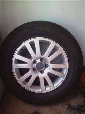 Volvo XC 60 & XC 90 Rim with a tyre