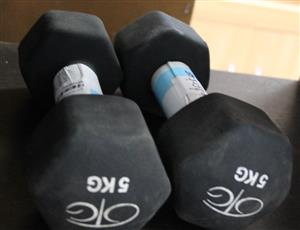 2 x dumbell set S032369B #Rosettenvillepawnshop