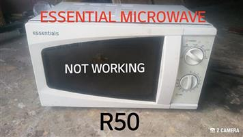 Essential microwave for sale